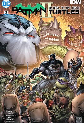 Batman and TNMT 2 comic books