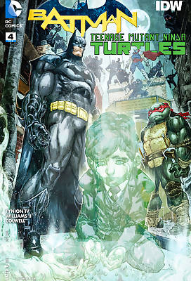 Batman and TMNT 1 comic books