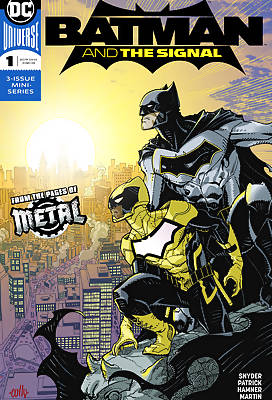 Batman and the Signal comic book