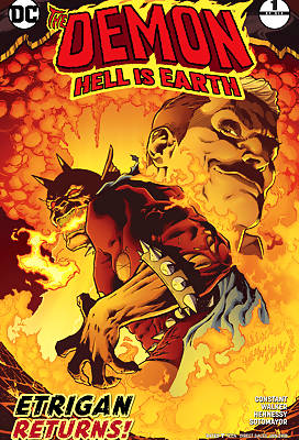 The Demon - Hell is Earth comic books