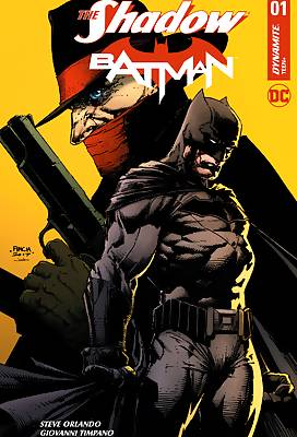 The Shadow and Batman comic books