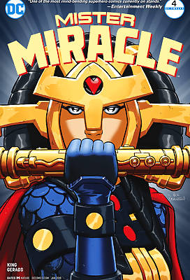 Mister Miracle comic books