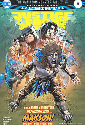 Justice League of America 5 comic books