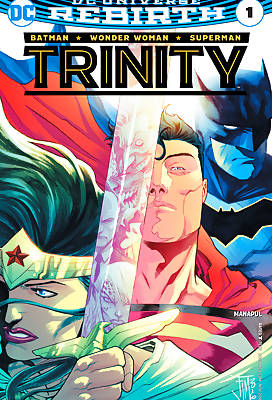 Trinity 2 comic books