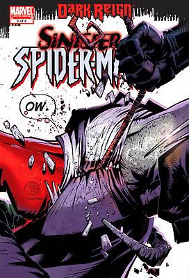 Dark Reign: Sinister Spider-Man comic books