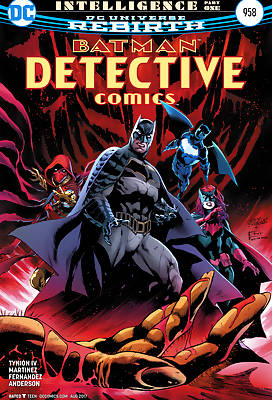 Batman Detective comic books