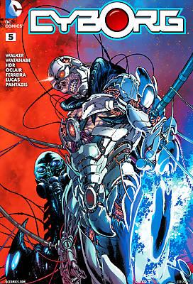 Cyborg 1 comic books