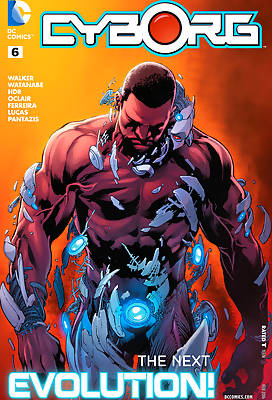 Cyborg 1 comic books