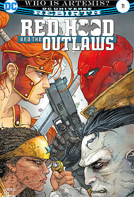 Red Hood and the Outlaws 2 comic books