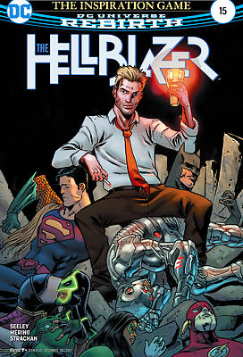The Hellblazer comic books