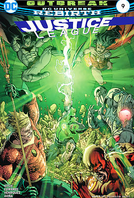Justice League of America 3 comic books
