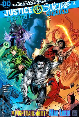 Justice League vs Suicide Squad comic books