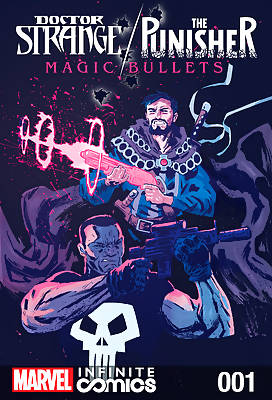 Magic Bullets (Dr.Strange, The Punisher) comic books